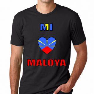 T-SHIRT 974<br>Mi aime maloya