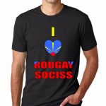 T-SHIRT 974<br>I love rougay sociss